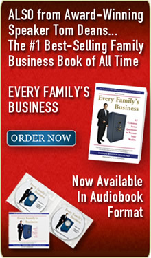 Also from Tom Deans A New York Times Recommended Family Business Book Every Familys Business