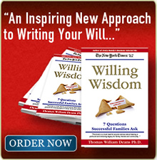 An Inspriing Approach to Writing Your Will